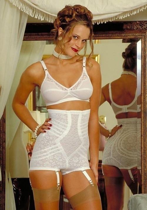 Sexy women in girdles