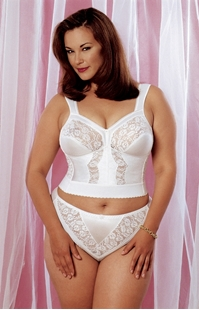 Picture of Carnival Creations #730 Longline Bra 20% Off