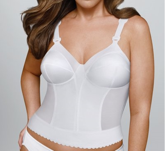 Exquisite Form 531 Cotton Front Close Wire Free Bra 38C White NEW WITHOUT TAGS
