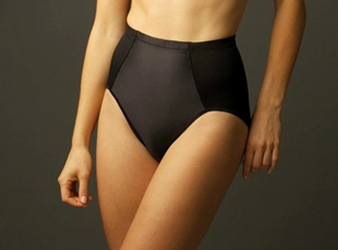 Black minus touch girdle