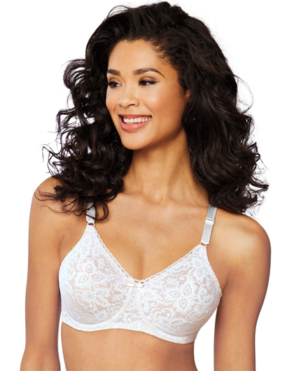 Picture of Bali #3432 Lace and Smooth Bra 30% Off