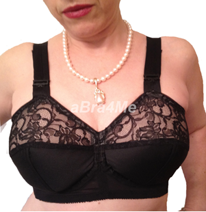 Picture of Edith Lances #989 Underwire Minimizer Bra