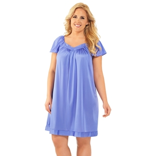 Picture of Exquisite Form #30109 Flutter Sleeve Nightgown
