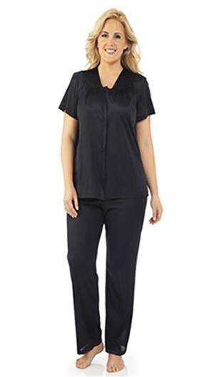Exquisite form black pajama