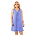 Picture of Exquisite Form #30807  Plus Size Sleeveless Nightgown